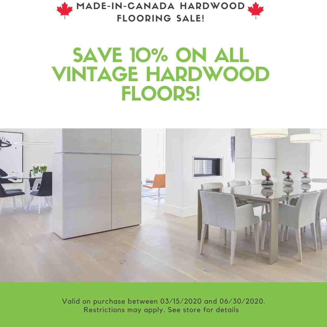 Vintage Hardwood Flooring Sale