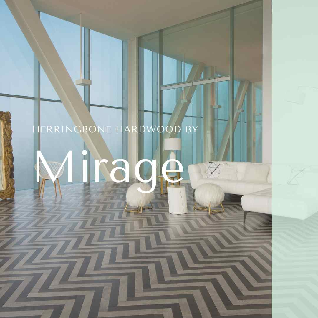Mirage Herringbone Hardwood Floor
