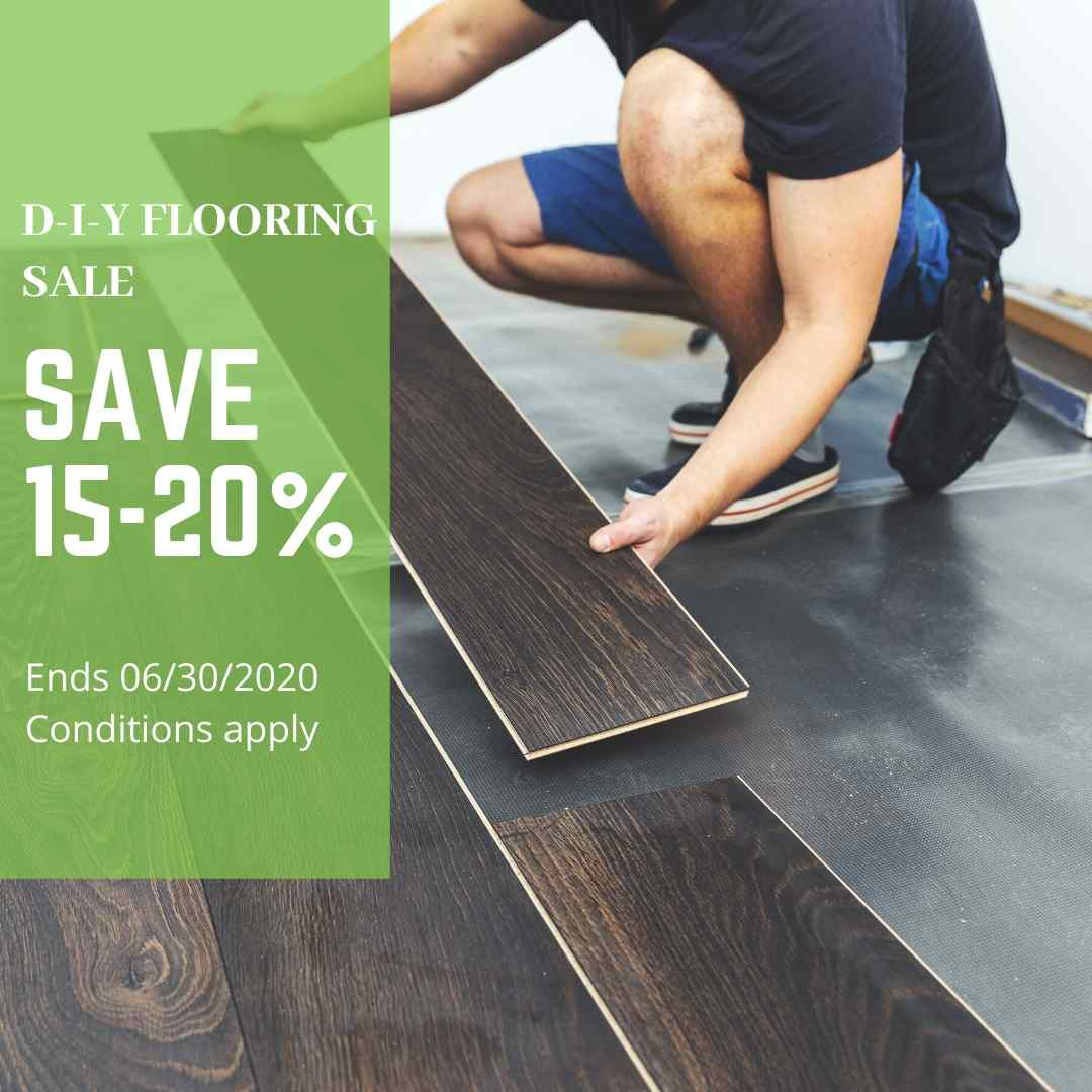 Ethical Flooring DIY Sale on Now
