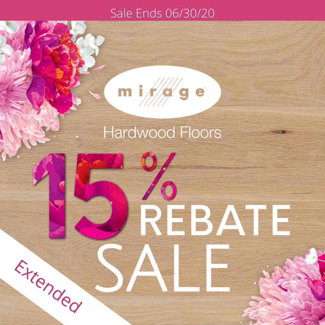 Mirage Hardwood Sale