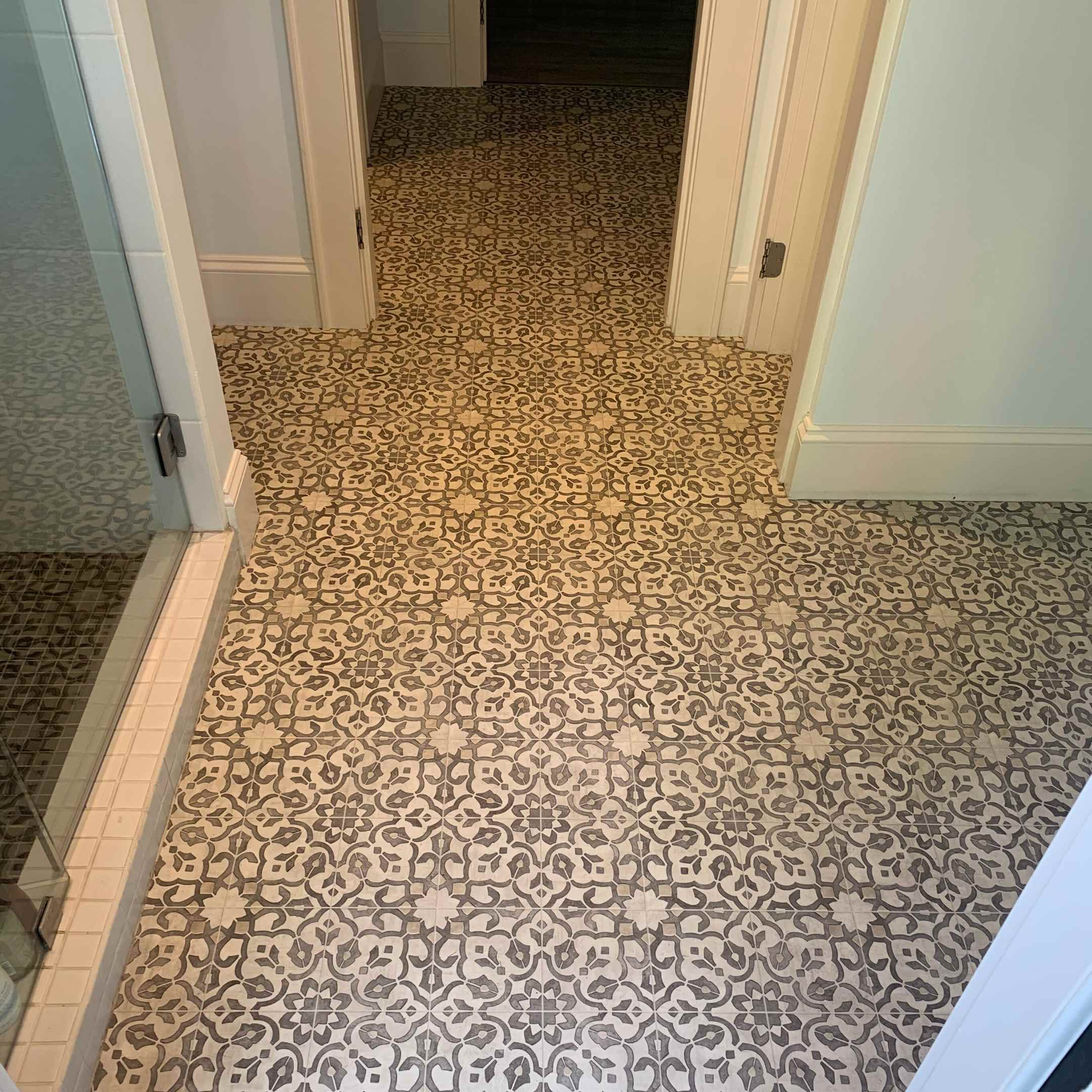 Mannington Sheet Vinyl Installation