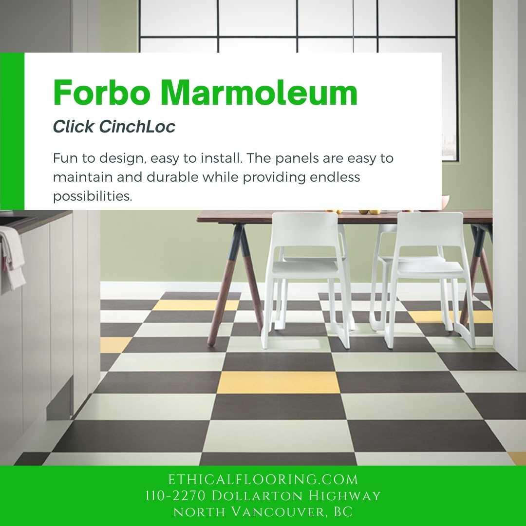 Forbo Marmoleum CinchLoc Click Flooring